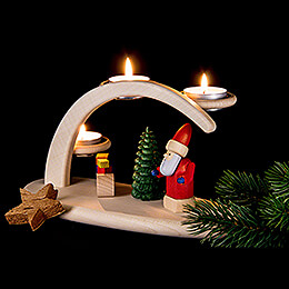 Modern Light Arch - Santa - 25x13x10 cm / 9.8x5.1x3.9 inch