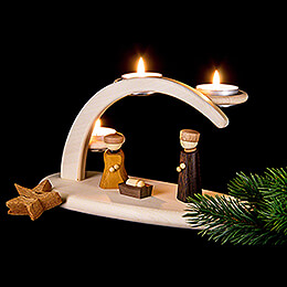 Modern Light Arch - Nativity - 25x13x10 cm / 9.8x5.1x3.9 inch