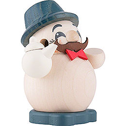Smoker - Coffee Grandpa - Ball Figure - 9 cm / 3.5 inch