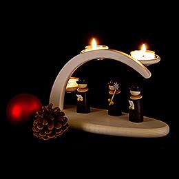 Leuchterbogen Weihnachtssänger - 24x13 cm