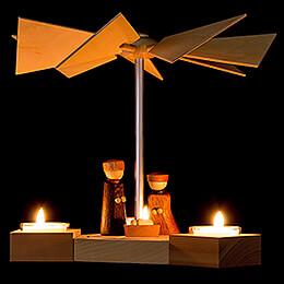 1-Tier Pyramid Hexagonum Nativity - 20 cm / 7.9 inch