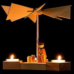 1-Tier Pyramid Hexagonum Shepherd - 20 cm / 7.9 inch