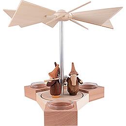 1-Tier Pyramid Hexagonum Gnomes - 20 cm / 7.9 inch