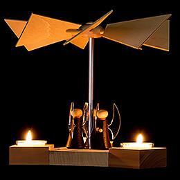 1-Tier Pyramid Hexagonum Angels - 20 cm / 7.9 inch