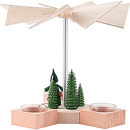 1-Tier Pyramid - Hexagonum Hunter Gnome - 20 cm / 7.9 inch