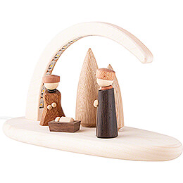 Modern Light Arch - Nativity - 24x13 cm / 9.4x5.1 inch