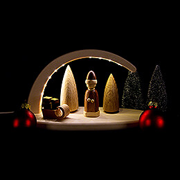 Leuchterbogen - Weihnachtsmotiv - 24x13 cm