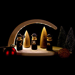 Modern Light Arch - Carolers - 24x13 cm / 9.4x5.1 inch