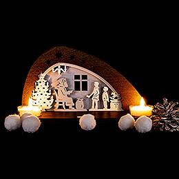 Tea Light Holder - Distribution of Presents - 14,5 cm / 5.7 inch