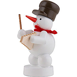 Snowman Musician with Xylophone - 8 cm / 3 inch