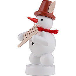 Snowman Musician with Comp - 8 cm / 3 inch