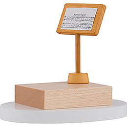 Music Stand for Snowman Conductor - 7 cm / 3 inch