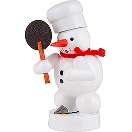 Snowman Baker with Mouse - 8 cm / 3.1 inch