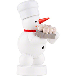 Snowman Baker with Eggs - 8 cm / 3.1 inch