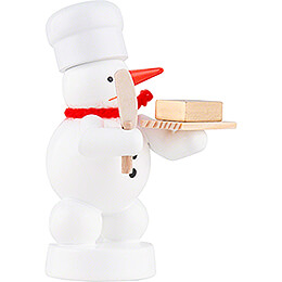 Snowman Baker with Butter - 8 cm / 3.1 inch