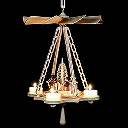 1-Tier Hanging Pyramid Angel - 30 cm / 11.8 inch