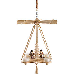 1-Tier Ceiling Pyramid Forest People - 30 cm / 11.8 inch