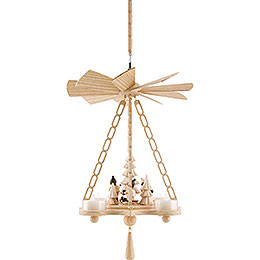 1-Tier Ceiling Pyramid Forest Scene - 30 cm / 11.8 inch