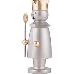 Smoker - Caspar - Stainless Steel, Glass Bead blasted - 15 cm / 5.9 inch