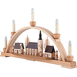 Schwibbogen Schneeberger Kirche - 52x30x14 cm
