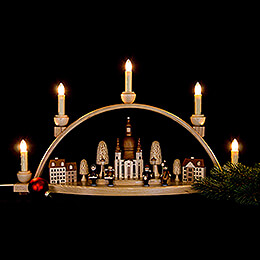 Candle Arch - Church of our Lady, Dresden - 52x30x14 cm / 20.4x11.8x5.5 inch