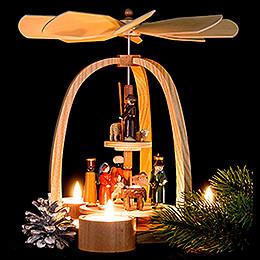 2-stöckige Pyramide Christi Geburt - 27 cm