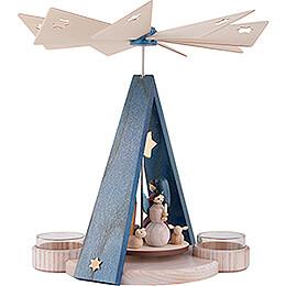 1-stöckige Pyramide Sternenstunde  - 23 cm