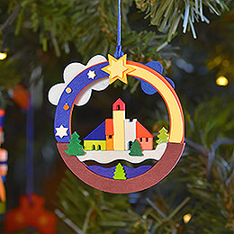 Tree Ornament - Christmas Village - 8,6 cm / 17318.9 inch