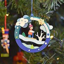 Tree Ornament - Sledding Hill - 8,6 cm / 17318.9 inch