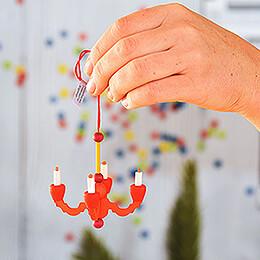 Tree Ornament - Candelabrum - 7,5 cm / 3 inch