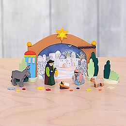 Miniature Nativity in Box