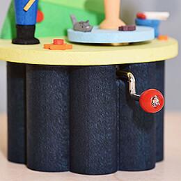 Hand Crank Music Box - Nutcracker - 10,5 cm / 4.1 inch
