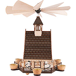 1-Tier Pyramid House - Miners - 47 cm / 18.5 inch