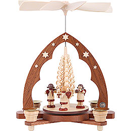 1-Tier Pyramid - Angel Musicians - 28 cm / 11 inch