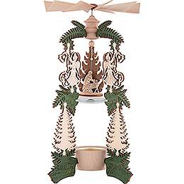 1-Tier Pyramid - Angel Nativity - 26,5 cm / 10.4 inch