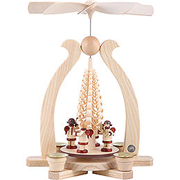 1-Tier Pyramid - Angels Musicians - 29 cm / 11 inch