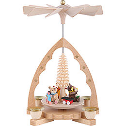 1-Tier Pyramid - Bear Children - 19 cm / 7 inch