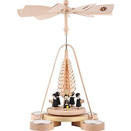 1-Tier Pyramid - Carolers - 25 cm / 9.8 inch