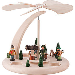 1-Tier Pyramid - Forest Life - 25 cm / 10 inch