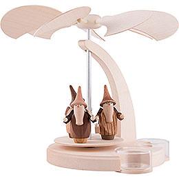 1-Tier Pyramid - Gnomes - 18 cm / 7 inch