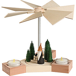1-Tier Pyramid - Hexagonum Mountain Gnome  - 20 cm / 7.9 inch