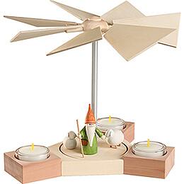 1-Tier Pyramid - Hexagonum Shepherd Gnome - 20 cm / 7.9 inch