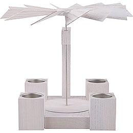 1-Tier Pyramid - Modern Whitel Oak Blank - 24 cm / 10 inch