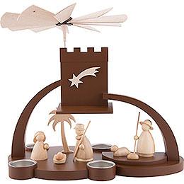1-Tier Pyramid - Nativity - 29 cm / 11.4 inch