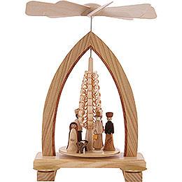 1-Tier Pyramid - Nativity Scene - 25 cm / 10 inch