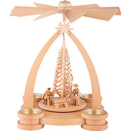 1-Tier Pyramid - Nativity Scene - 28 cm / 11 inch