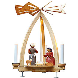 1-Tier Pyramid - Nativity for Outdoor Use - 300 cm / 118 inch