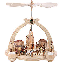 1-Tier Pyramid - Pointed Arch Old Dresden - 36 cm / 14 inch
