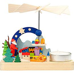 1-Tier Pyramid - Santa Claus - 12 cm / 4.7 inch