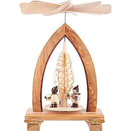 1-Tier Pyramid - Striezel Children - Natural - 26 cm / 10.2 inch